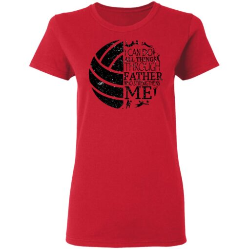 Gifts For Volleyball Dad Volleyball Dad T-Shirt 15 of Sapelle