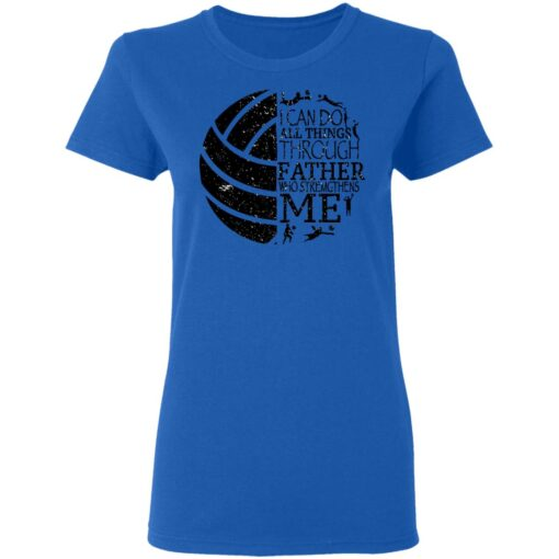 Gifts For Volleyball Dad Volleyball Dad T-Shirt 16 of Sapelle