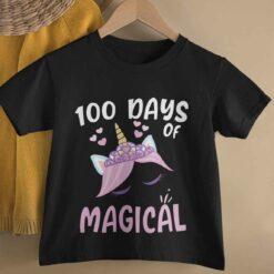 100 Days Of School Shirt, 100 Days Of Magical basic