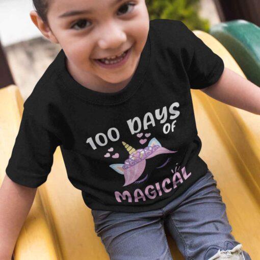 100 Days Of School Shirt, 100 Days Of Magical girl kid 2