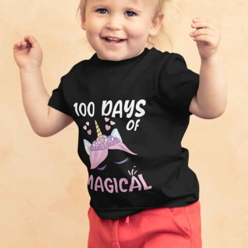 100 Days Of School Shirt, 100 Days Of Magical girl kid