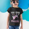 100 Days Of School Shirt, 100 Days Of Magical girl kid main