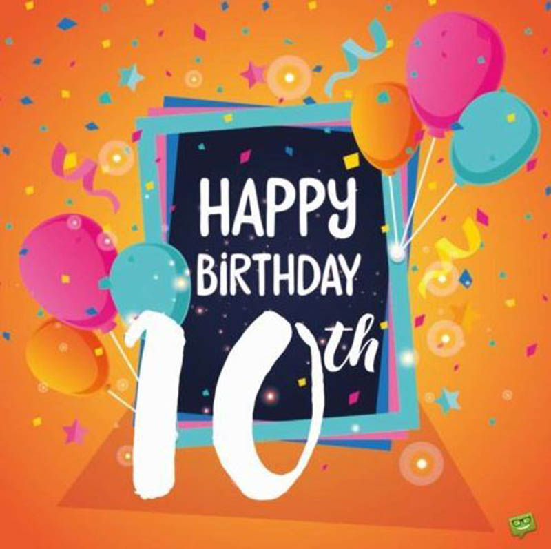 10th Birthday Messages For Boys - 4
