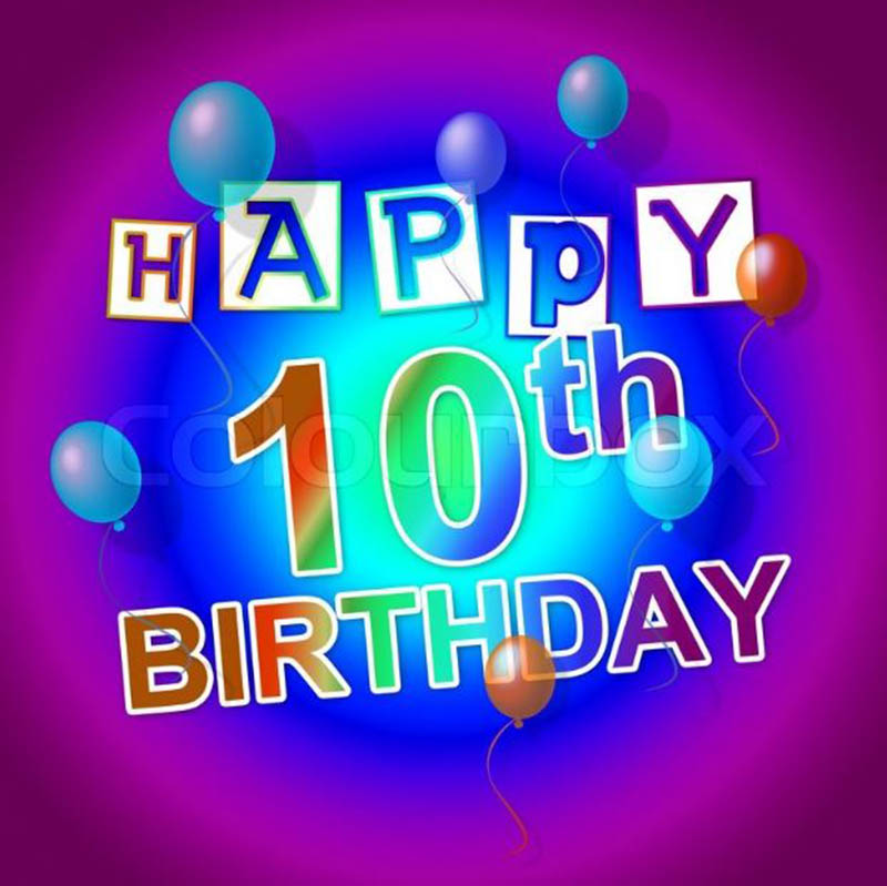 10th Birthday Messages For Boys - 5