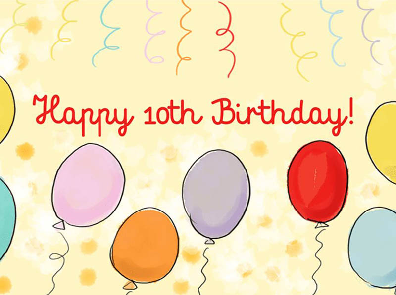 10th Birthday Messages For Boys - 7