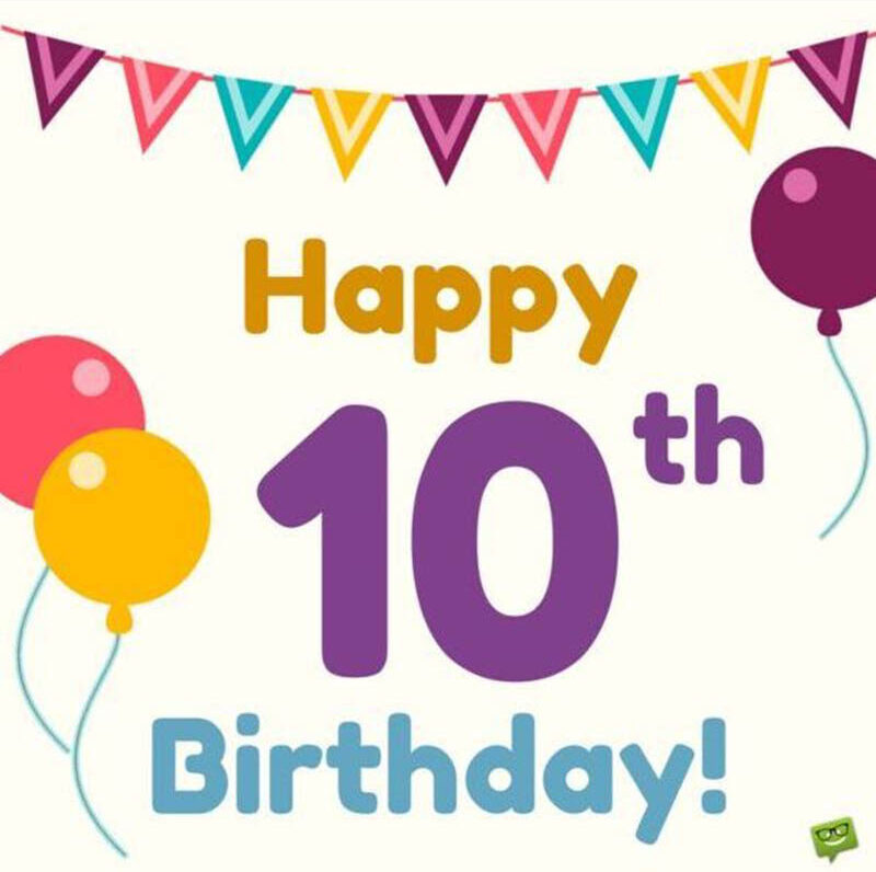 10th Birthday Messages For Boys - 8