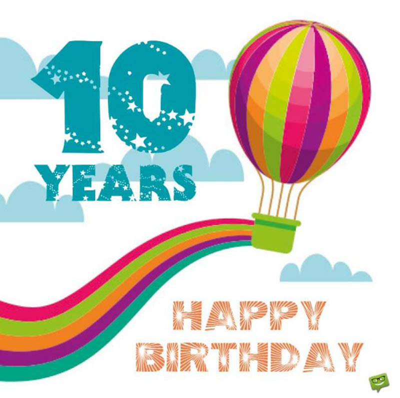 10th Birthday Messages For Boys - 9