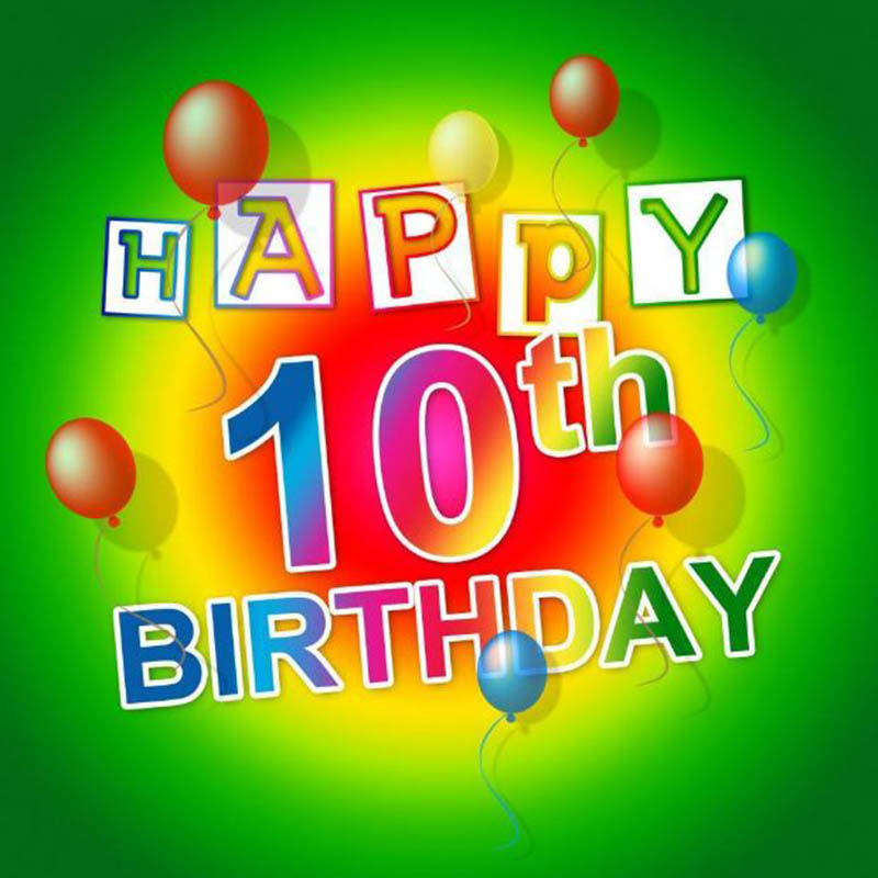 10th Birthday Wishes For Girls - 4