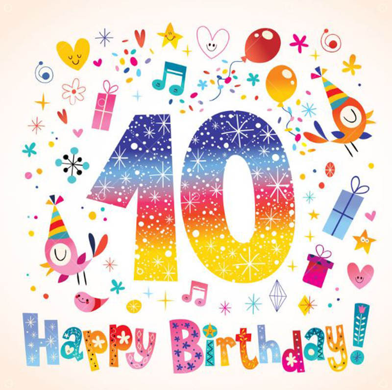 10th Birthday Wishes For Girls - 6