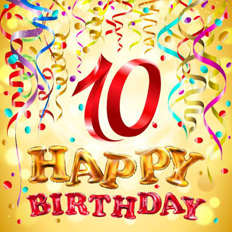 10th Birthday Wishes For Girls - 7