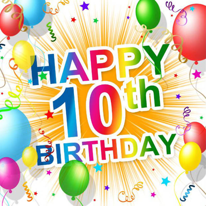 10th Birthday Wishes For Girls - 8