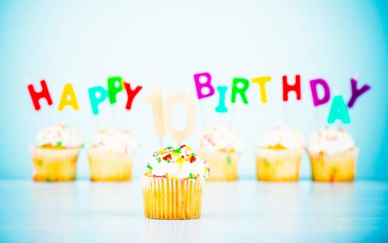 10th Birthday Wishes From Mom to a Child - 1