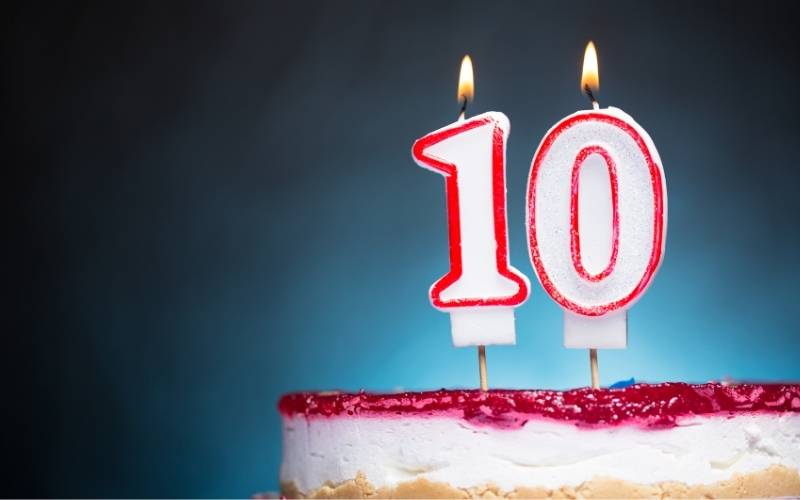 10th Birthday Wishes From Mom to a Child - 3