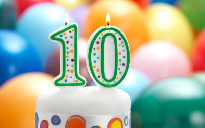 10th Birthday Wishes From Mom to a Child - 8