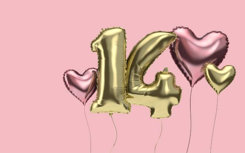 14th Birthday Messages for a Girl