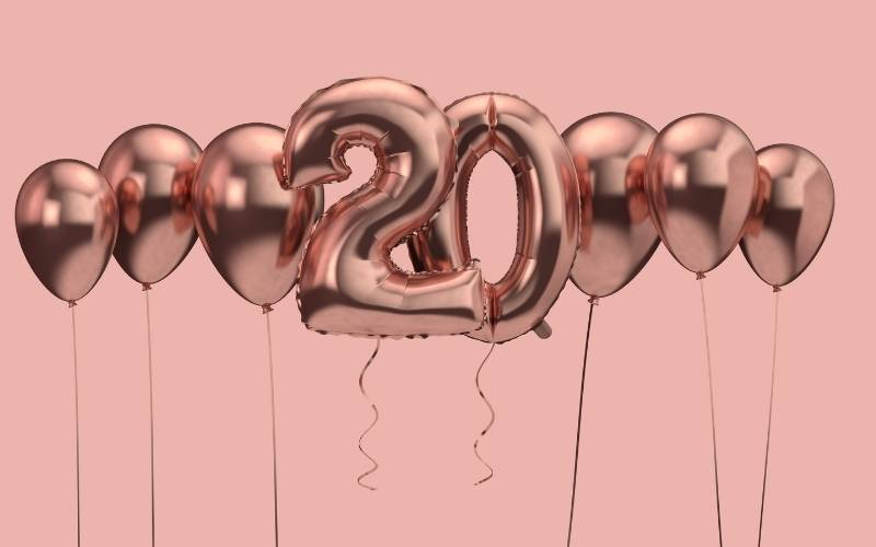 20th Birthday Greetings For Your Girlfriend - 10