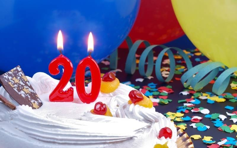 20th Birthday Greetings For Your Girlfriend - 7