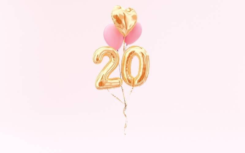 20th Birthday Wishes for a Friend - 4