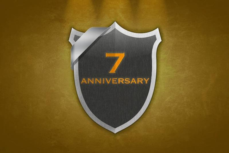 7 Years Wedding Anniversary Images - 6