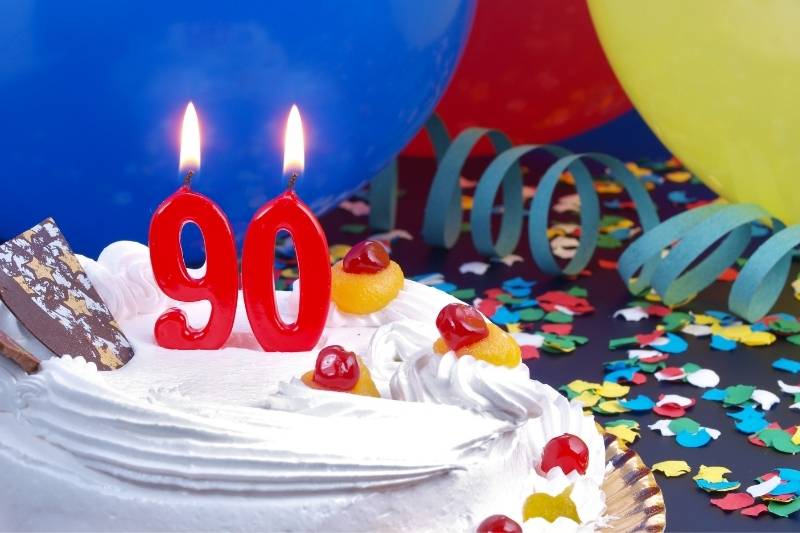 90th Birthday Images - 11