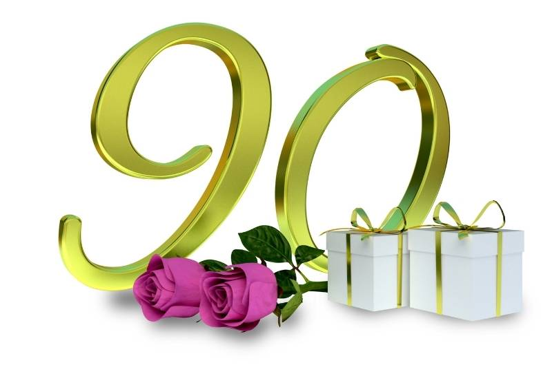90th Birthday Images - 12
