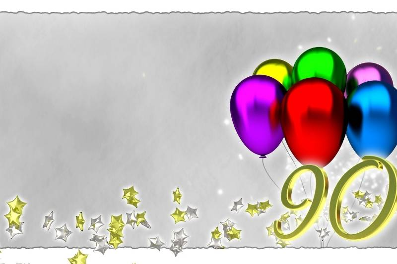 90th Birthday Images - 13