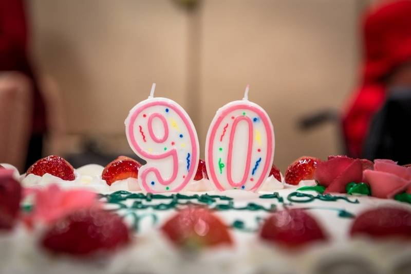 90th Birthday Images - 2
