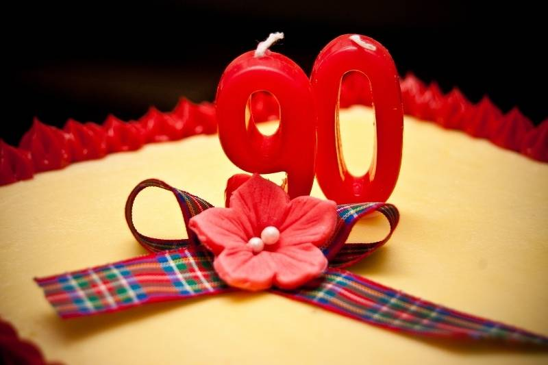 90th Birthday Images - 3