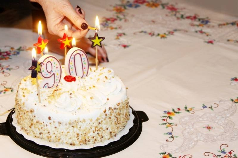 90th Birthday Images - 4