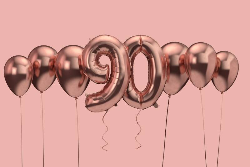 90th Birthday Images - 44