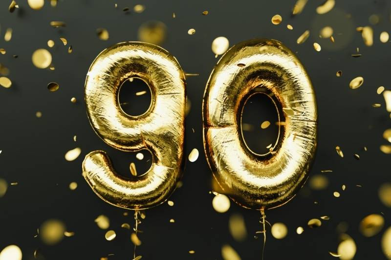 90th Birthday Images - 45