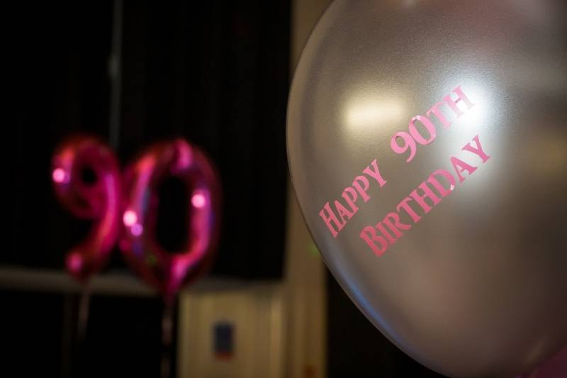 90th Birthday Images - 6