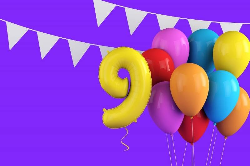 9th Birthday Images - 2