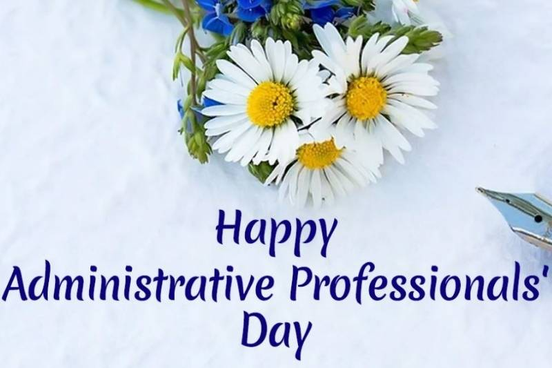 Administrative Professionals Day Greetings