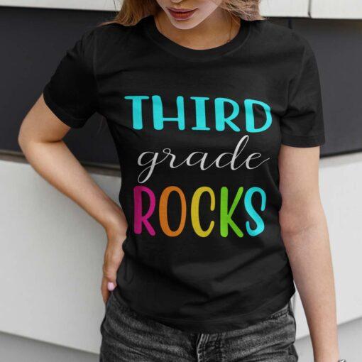 Best 3rd Grade Teacher Gifts, Third Grade Teacher T-Shirt Mockup