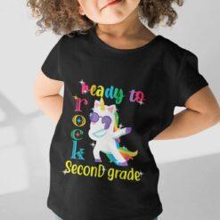 Best Gifts For 2nd Graders, Second Grade Rocks girl kid+ mockup