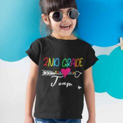 Best Gifts For 2nd Graders, Second Grade Team girl kid+