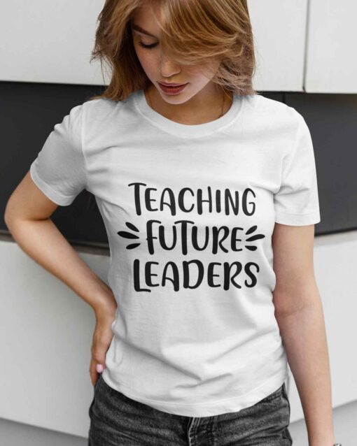 Best Gifts For Teachers, First Day Of School Teacher young girl mockup