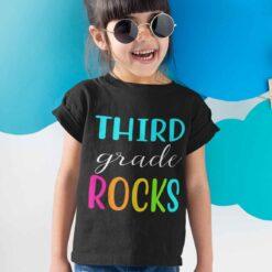 Best Gifts For Third Grade Students, 3rd Grade Rocks girl kid+