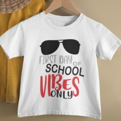First Day Of School Gifts, Cute First Day Of School basic mockup