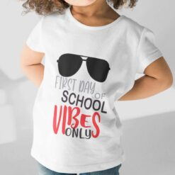 First Day Of School Gifts, Cute First Day Of School girl kid+ mockup