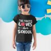 First Day Of School Gifts, Funny First Day Of School kid girl main mockup