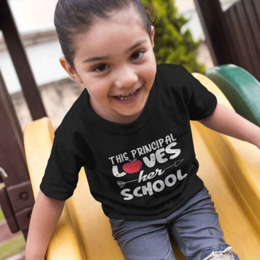 First Day Of School Gifts, Funny First Day Of School kid girl mockup 2