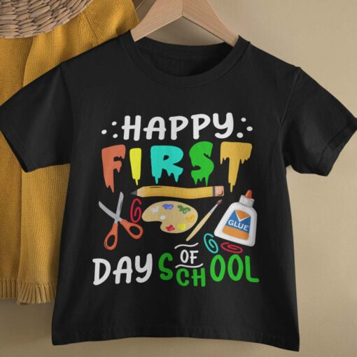 First Day Of School Gifts, Happy First Day Of School basic mockup
