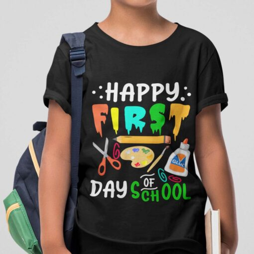 First Day Of School Gifts, Happy First Day Of School boy kid+ mockup