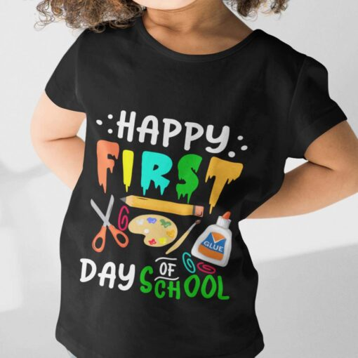 First Day Of School Gifts, Happy First Day Of School girl kid+ mockup