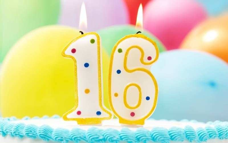 Funny 16th Birthday Messages
