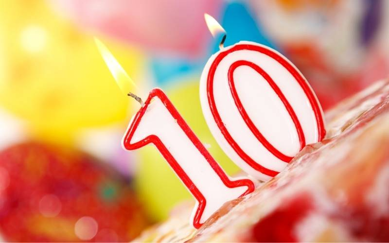 Happy 10Th Birthday Images Free Download 2021