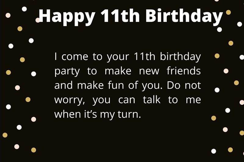 Happy 11th Birthday Images - 12