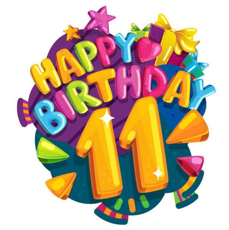 Happy 11th Birthday Images - 14